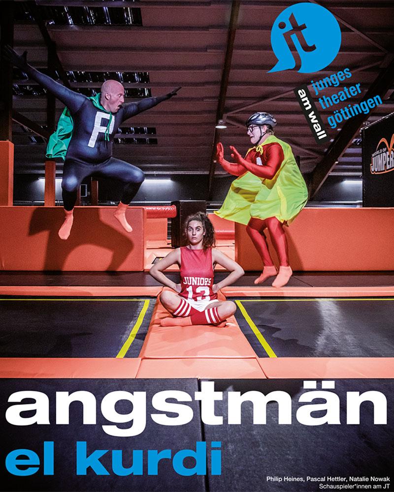 Angstmän @ Junges Theater Göttingen   Göttingen   Niedersachsen   Deutschland